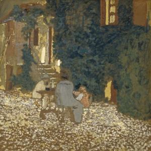 Эдуард Вюйяр - Трапеза в саду