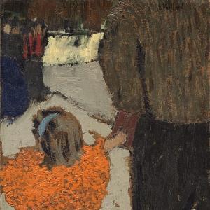Эдуард Вюйяр - Ребенок с красным шарфом