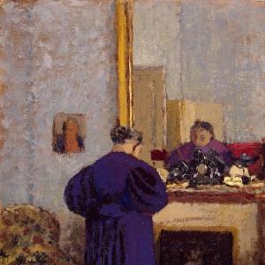 Эдуард Вюйяр - Старая женщина у камина
