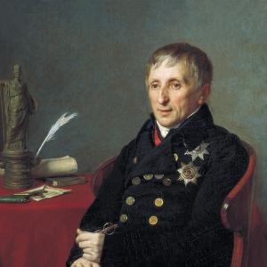 Портрет президента Академии художеств Алексея Николаевича Оленина