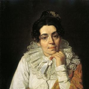 Портрет М.А.Венециановой.