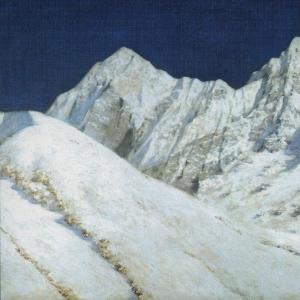 В Индии. Снега Гималаев