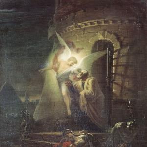 Изведение апостола Петра из темницы