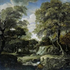 Ян ван дер Хейден - Лес, 1660-1690