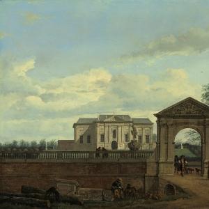 Ян ван дер Хейден - Архитектурная фантазия