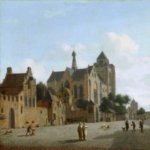 Ян ван дер Хейден - Церковь в Вере