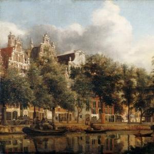 Ян ван дер Хейден - Херенграхт в Амстердаме
