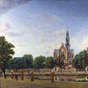 Ян ван дер Хейден - Вестеркерк (Западная церковь) в Амстердаме