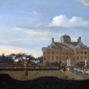 Ян ван дер Хейден - Хейс тен Бос в Гааге