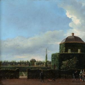 Ян ван дер Хейден - Хью тен Бош в Гааге и Формальном саду (вид с востока)
