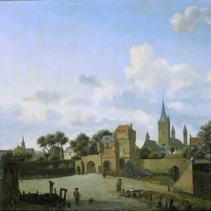 Ян ван дер Хейден - Церковь Св. Северина в Кёльне, названная по имени надуманного прототипа статуи в городе, 1660-1672