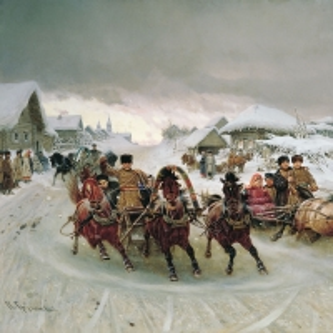 Масленица. 1889