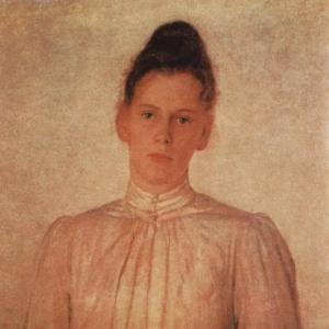 Портрет М.Л.Толстой, дочери писателя