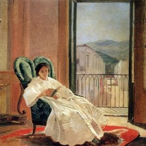 Портрет жены художника А.П.Ге