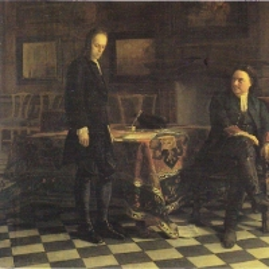 Петр I допрашивает царевича Алексея Петровича в Петергофе