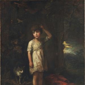 Мальчик с кошкой - Утро