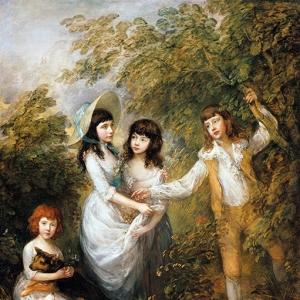 Групповой портрет детей Маршам