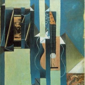 Хуан Грис - Гитара, 1913