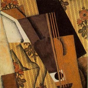 Хуан Грис - Гитара, 1914