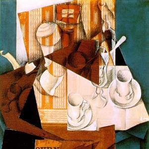 Хуан Грис - Завтрак