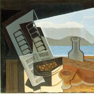 Хуан Грис - Открытое окно, 1921