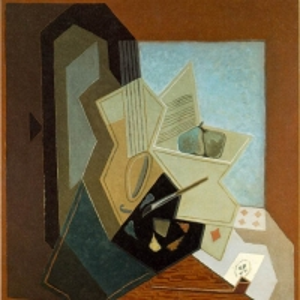 Хуан Грис - Окно художника, 1925