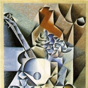 Хуан Грис - Натюрморт с цветами, 1912