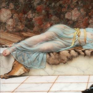 Озорница и спящая