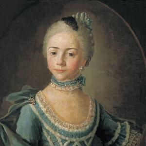 Портрет графини Софьи Дмитриевны Матюшкиной в детстве.