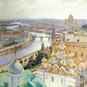 Вид на Москву с колокольни Ивана Великого