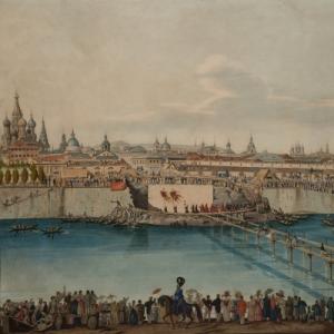 Гампельн Карл Карлович - Закладка Москворецкого моста