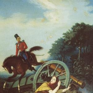 Сцена из Отечественной войны 1812 года. Конец 1830-х