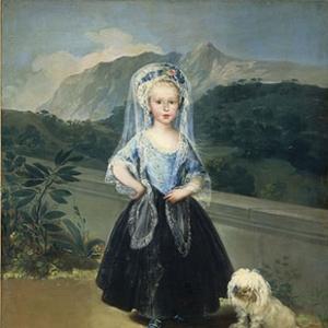 Мария Тереза де Бурбон и Виллабрига, позже Кондеса де Чинчон
