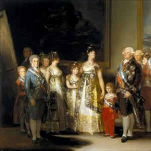 Семейный портрет короля Карла IV