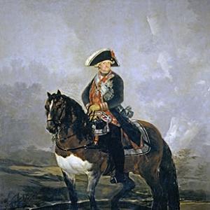 Конный портрет Карла IV