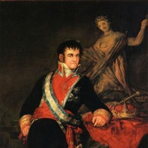 Портрет короля Фернандо VII