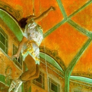 Эдгар Дега - Ла-Ла в цирке Фернандо