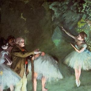 Эдгар Дега - Репетиция балета