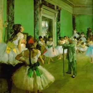 Эдгар Дега - Урок танцев