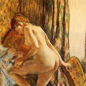 Эдгар Дега - После ванны 2