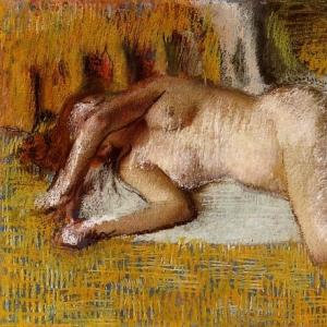 Эдгар Дега - После ванны 3