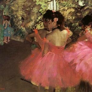 Эдгар Дега - Танцовщицы в розовом
