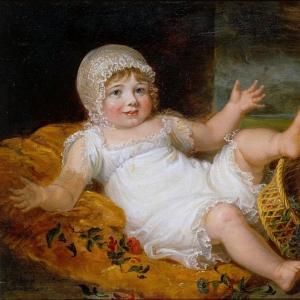 Доу Джордж - Эскиз ребёнка