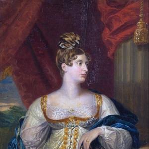 Доу Джордж - Шарлотта, Принцесса Уэльса и Саксен-Кобурга 1