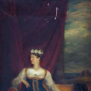 Доу Джордж - Шарлотта, Принцесса Уэльса и Саксен-Кобурга