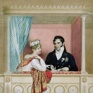 Доу Джордж - Принцесса Шарлотта Августа Уэльская (1796-1817) и Леопольд Саксен-Кобург-Готский