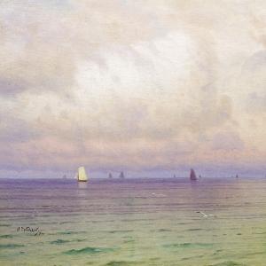 Море. Парусники
