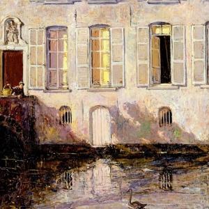 Джеймисон Александр - Кормление лебедей, Брюгге