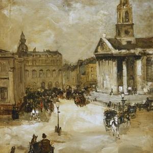 Джеймисон Александр - Церковь Святого Мартина в полях на Трафальгарской площади