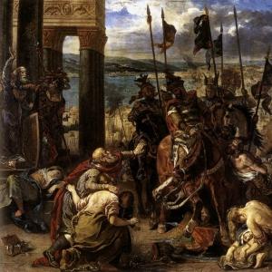 Эжен Делакруа - Вступление крестоносцев в Константинополь